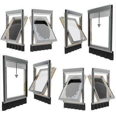 鋁合金窗, 飄窗組合, 現代