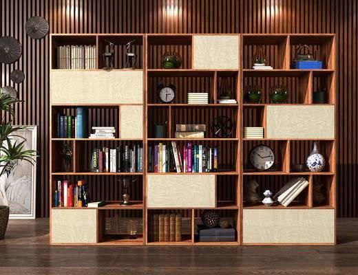 置物架, 书架, 装饰架, 装饰柜, 陈设品, 摆件