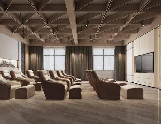 现代影音室