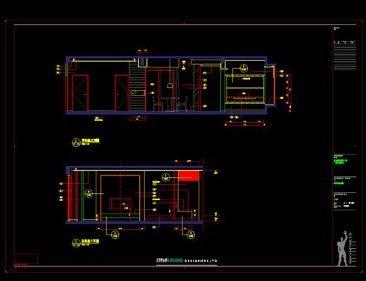 CAD, 家装施工图, 平面图, 立面图, 下得乐3888套模型合辑