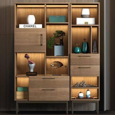 装饰柜, 柜架组合, 置物柜