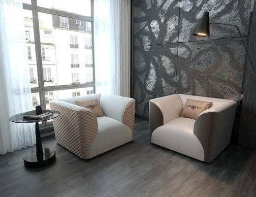 CR, 沙发, 现代, 后现代, 欧式