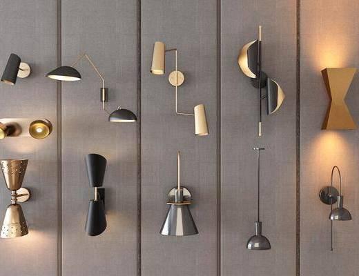 现代壁灯, 壁灯