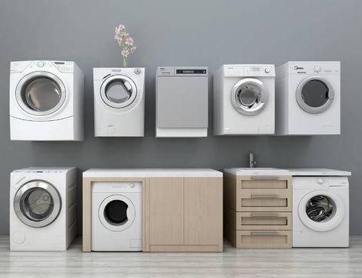 现代, 洗衣机, 单体