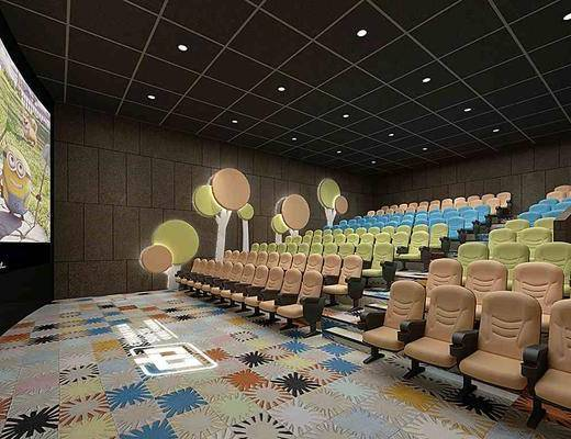 放映厅, 电影院