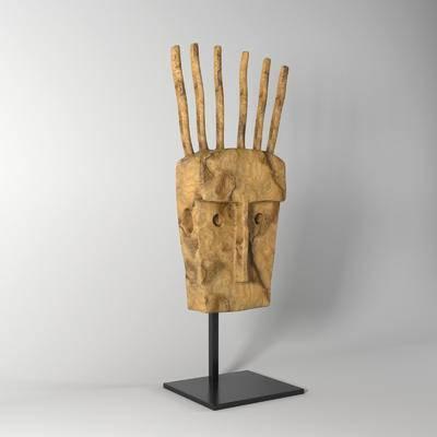现代人物摆件, 摆件, 雕塑