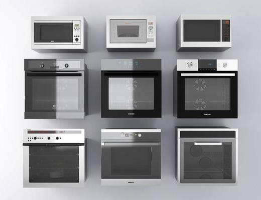 电器, 厨房电器, 微波炉, 烤箱