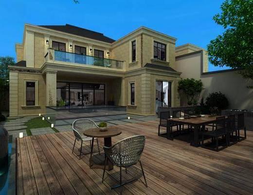 現代別墅, 別墅
