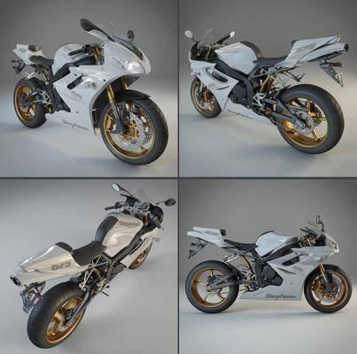 摆件, 摩托车, 现代