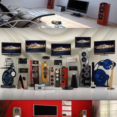 家用电器, 电视, 音响, DVD机, VCD, 现代
