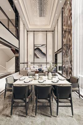 餐桌, 桌椅組合, 餐具組合, 沙發組合, 茶幾, 背景墻