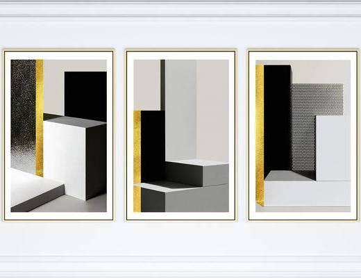 挂画, 装饰画, 组合画, 照片墙, 现代