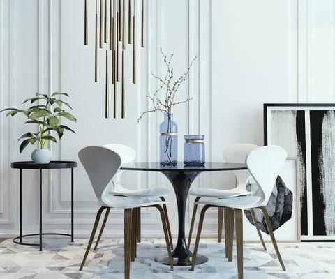桌椅组合, 餐桌, 餐厅