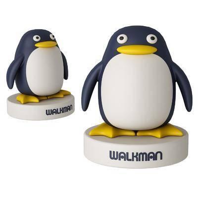 现代企鹅玩具, 手办
