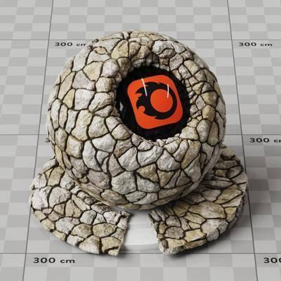 石墙, 石材