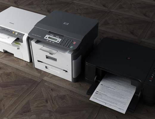 复印机组合, 现代