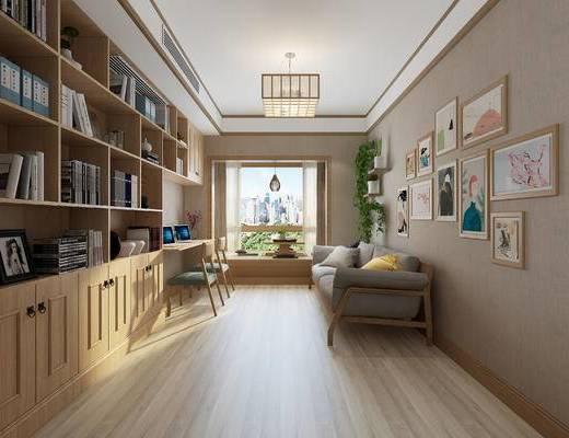 家装, 日式书房
