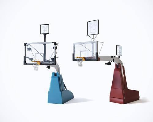 篮筐, 篮球架