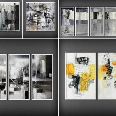 挂画, 油画, 装饰画, 现代