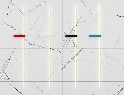 现代, 线性, 壁灯