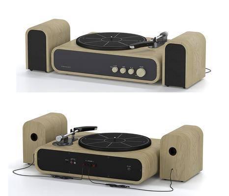 现代, 唱片机, 单体