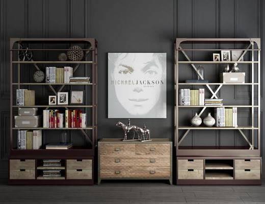 摆件, 玄关柜, 边柜, 装饰架, 餐边柜, 装饰画