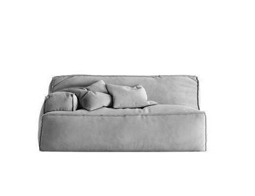 现代沙发, 布艺沙发, 单人沙发
