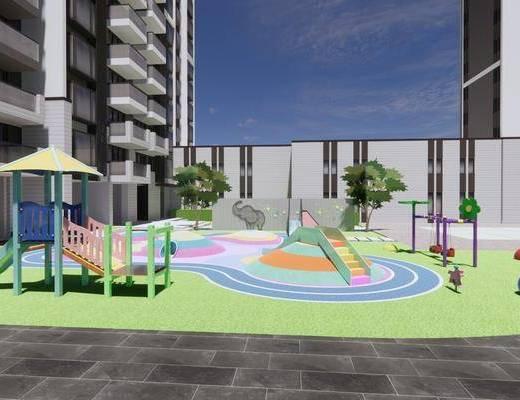 儿童活动区, 儿童游乐设施