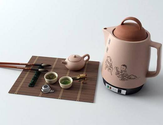 茶具, 电水壶, 茶具组合