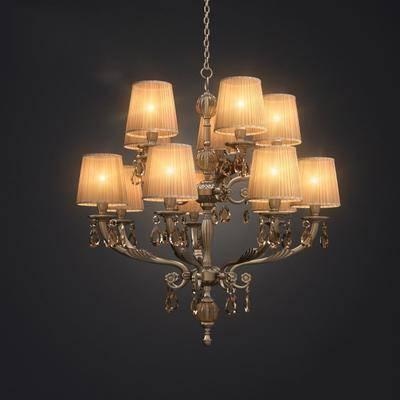 吊灯, 现代吊灯, 艺术吊灯, 灯泡, 欧式吊灯, 现代