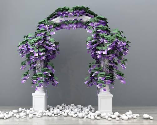 装饰, 现代, 花卉