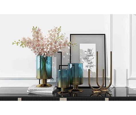 摆件组合, 摆件, 摆设, 陈设品, 花瓶