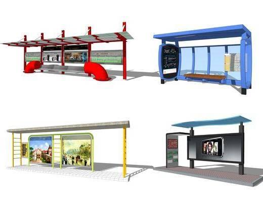 交通工具, 车站, 站台
