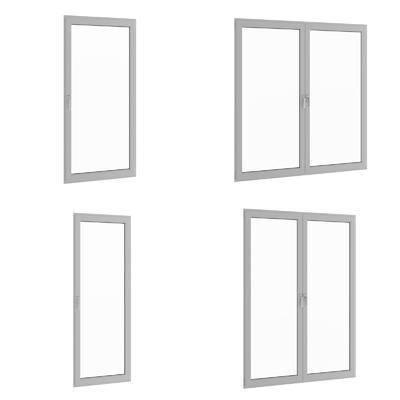 窗户, 平开窗, 现代