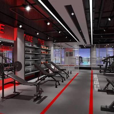 健身房, 健身器材, 跑步机