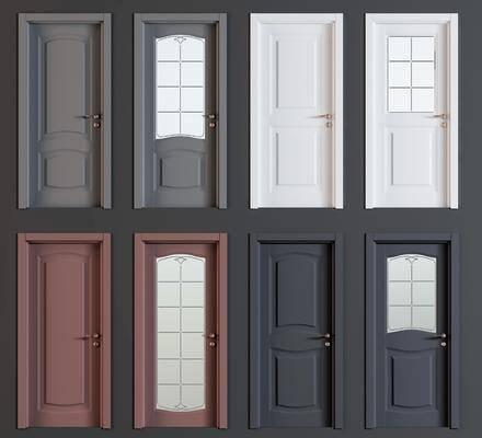 现代平开门, 平开门, 门