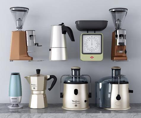 榨汁机, 电器, 咖啡机