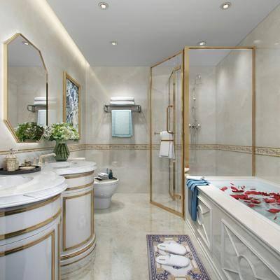 欧式卫生间, 卫生间, 卫浴