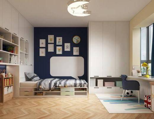 现代卧室, 卧室, 榻榻米