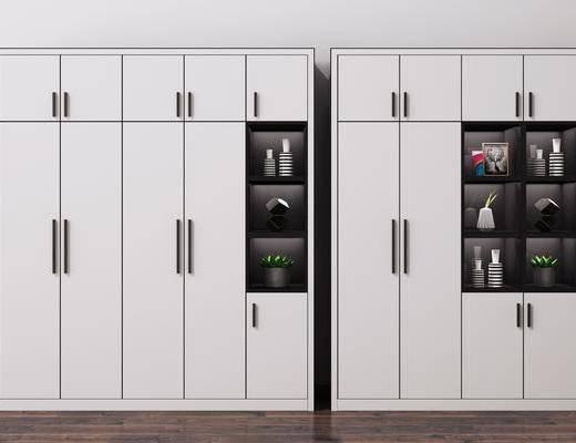衣柜, 置物柜, 柜架组合, 装饰柜