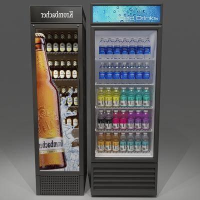 冰箱冰柜, 饮料, 现代