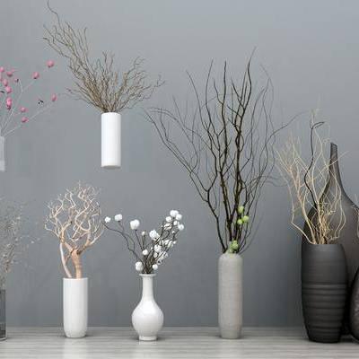 花瓶, 装饰品, 现代