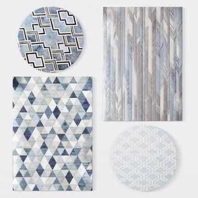 现代毛地毯, 地毯, 现代