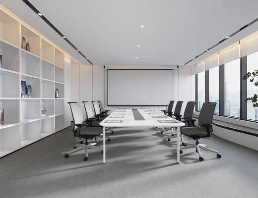 现代小会议室