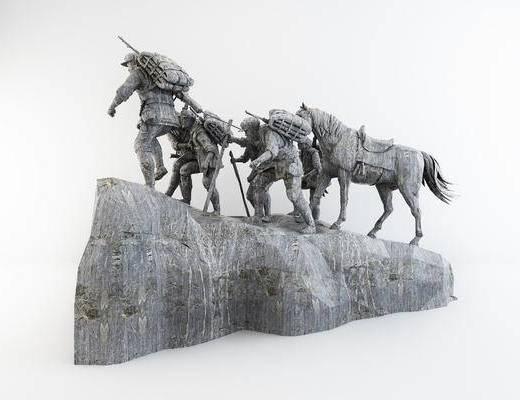 雕塑, 模型