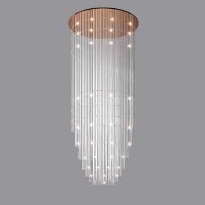 水晶吊灯, 现代中空吊灯