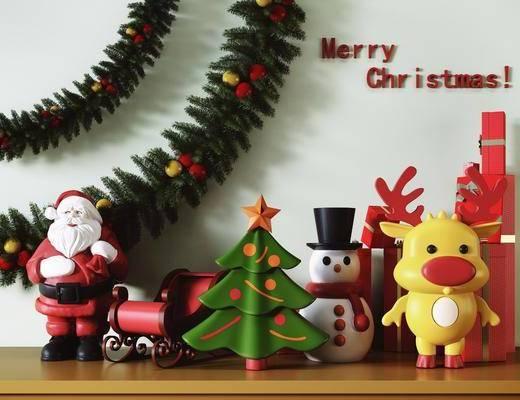 摆件, 陈设品, 装饰品, 圣诞
