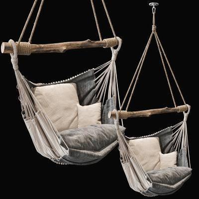 休闲吊椅, 单人椅, 现代