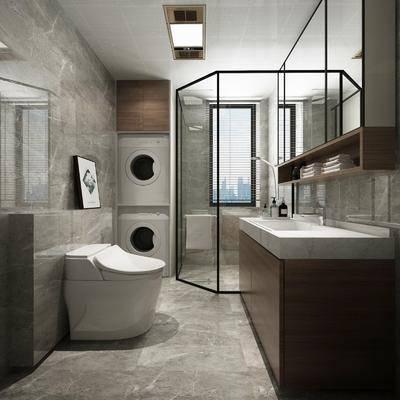 卫浴, 洗手盆, 马桶