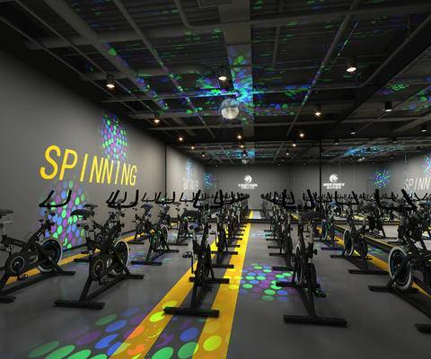 健身房, 运动器材, 工业风健身房
